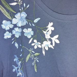 100% Cotton Embroidered T-Shirt